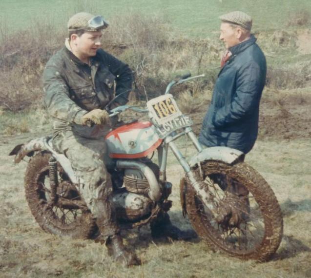 Mike Rapley - Bultaco mod 27
