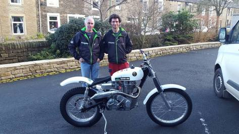 Owen Hardisty and Guy Martin - Photo
