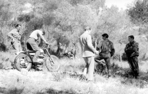 SHM - Bultaco Sherpa 1964 - Manel Soler photo
