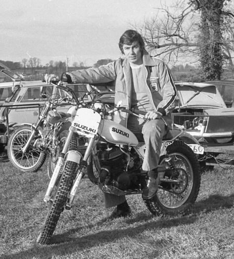 Suzuki rider Brian Higgins