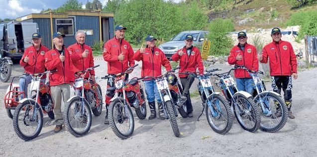 Team Bultaco Classic June 2013 - Alvie