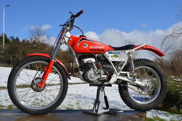 125 Bultaco NS - Vesty