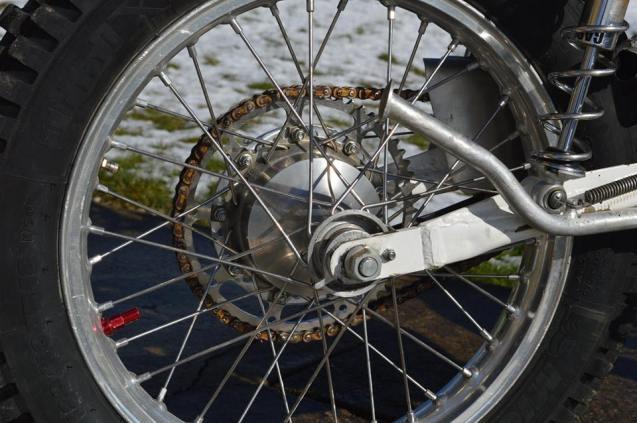 125 Bultaco - Rear Wheel - Vesty