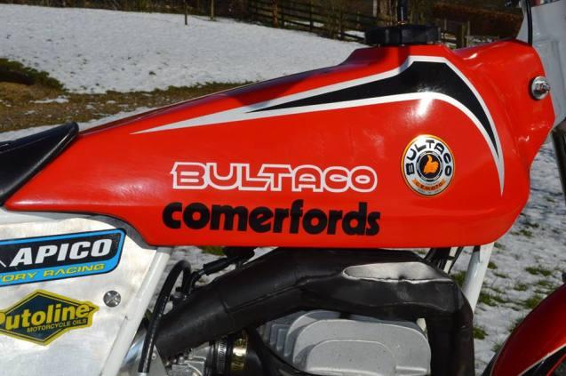 125 Bultaco Tank - Vesty