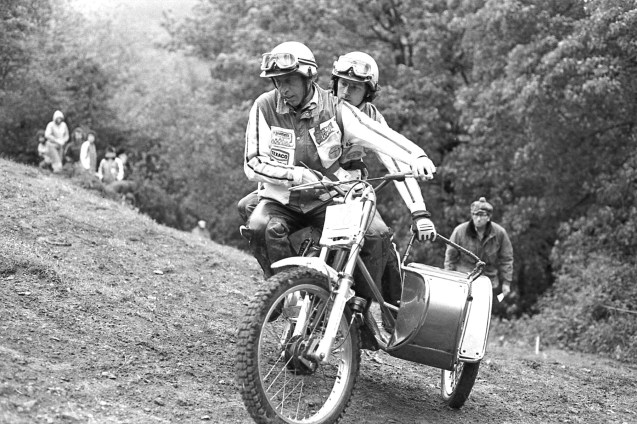 British Champions Colin Dommett and Eric Chamberlain