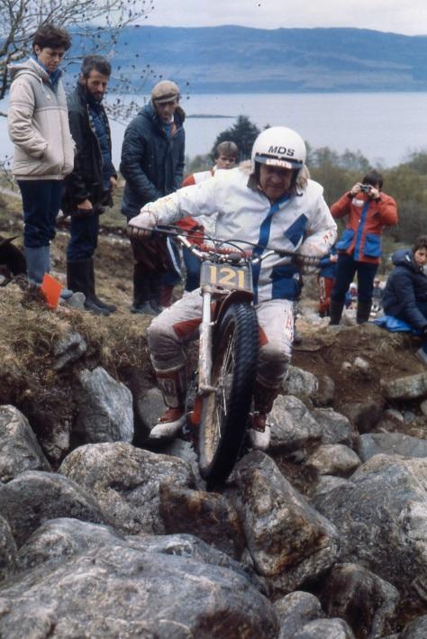 Mick Andrews'85 250 Honda Kilmalieu