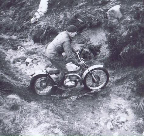 Terry Hill - Bultaco - Pat Ewen