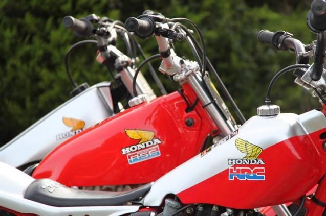 Three Hondas - Only Trial