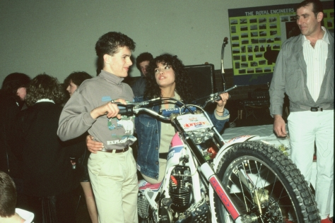 With Jenny Powell of the TV - credit Dennis Fowler (2)