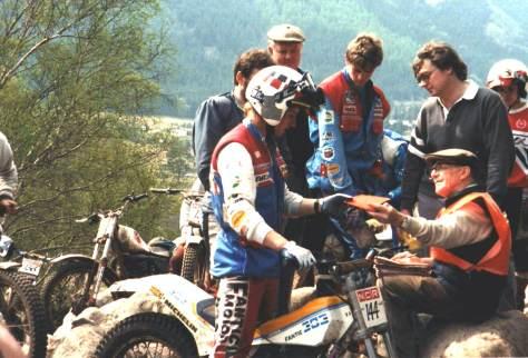 1988 Steve Saunders (Fantic)