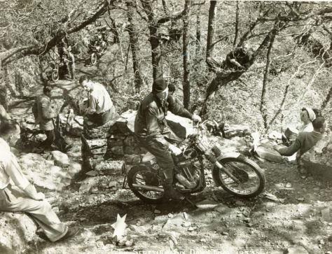 J N Clarkson 1953 - Matchless  - Devils Staircase - Ray Biddle