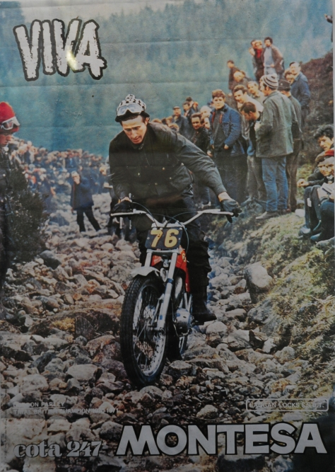 Montesa promotional poster
