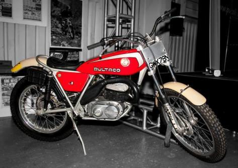 Martin Lampkin Bultaco - GWX78N