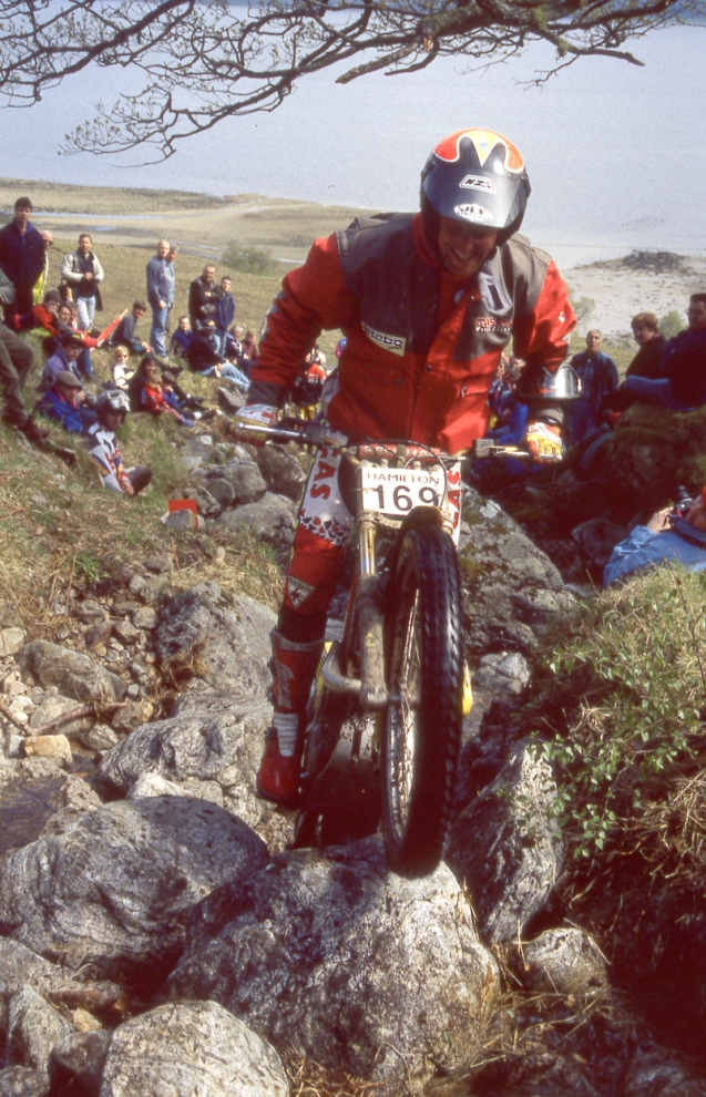 Steve Saunders 1997 Gearadh