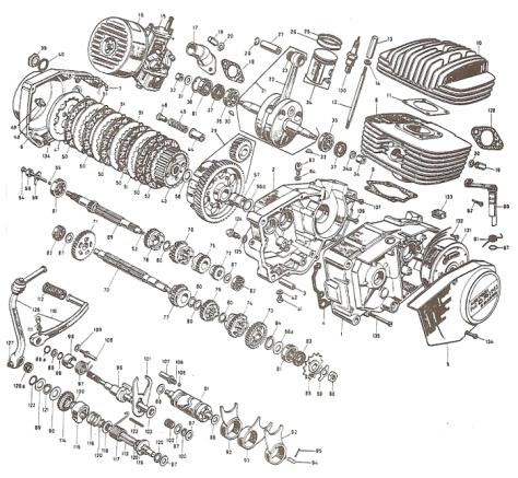 17.Franco Morini engine FM 125