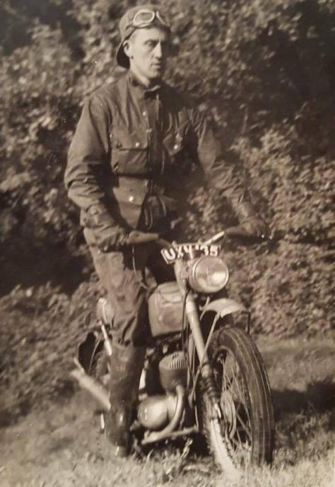 Frederick Cross - BSA Bantam