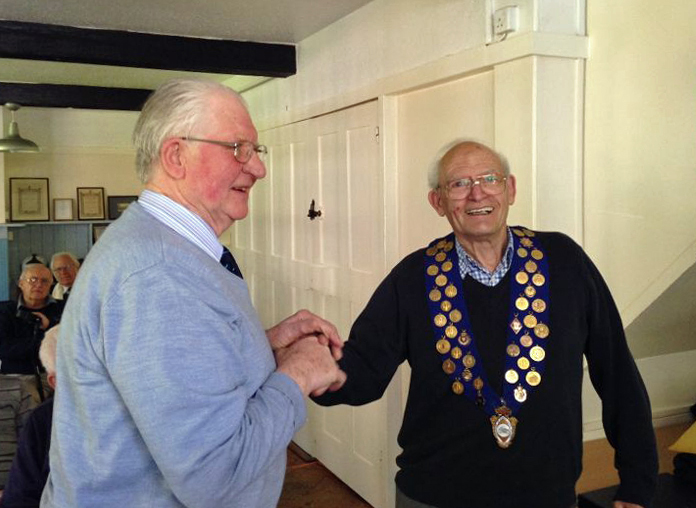 Don Morley New APMC Hon President. 1402