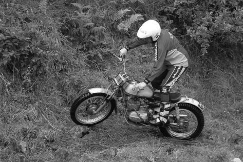 David Coughlan - Banbridge Classic Trial - Bultaco - CS