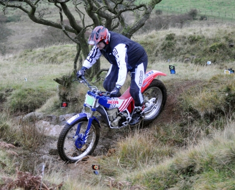 Red - Jason Pyper from Co Down Beta TR34 at the Mid Antrim club's Ulster Championship trial at Slemish.