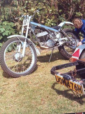 Bultaco Special - Stephen Hopkins
