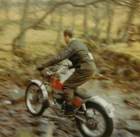 Sid Lampkin - Bultaco - RE