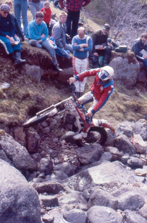 89 - Steve Moore'89 Honda lagnaha