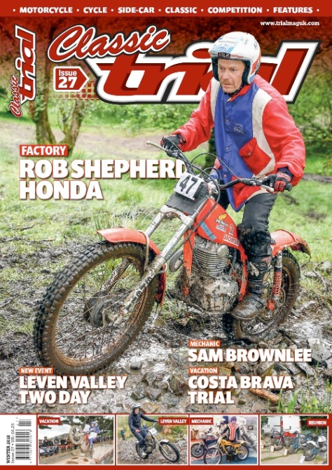 Classic Trial Magazine Issue 27 Winter 2018