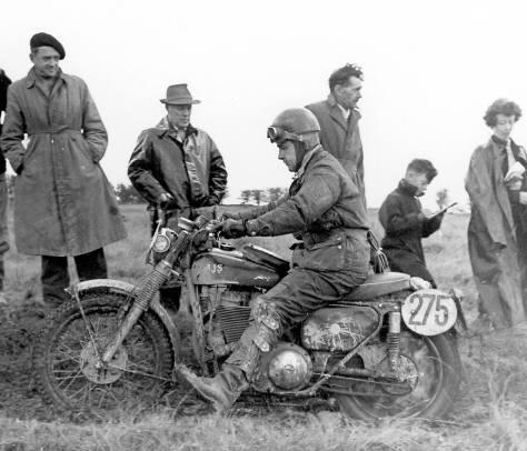 1961 isdt - jock wilson ajs