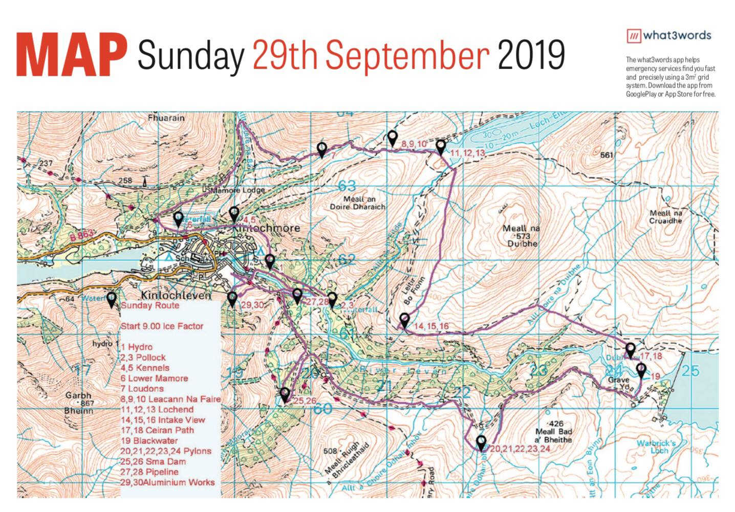 LV2DT - Sunday Route