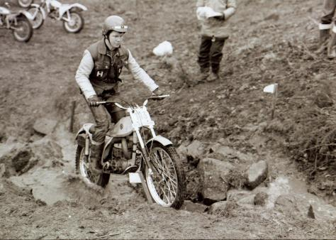 19another famous lampkin alan on his works bultaco 1979